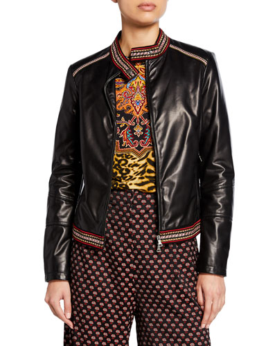 55350d9f Womens Cropped Jacket | Neiman Marcus