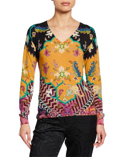 Stampa Neo Nomad Silk Cashmere Sweater