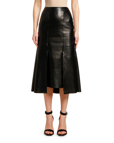 dc956a09c Quick Look. Alexander McQueen · Lightweight Lambskin Leather Skirt