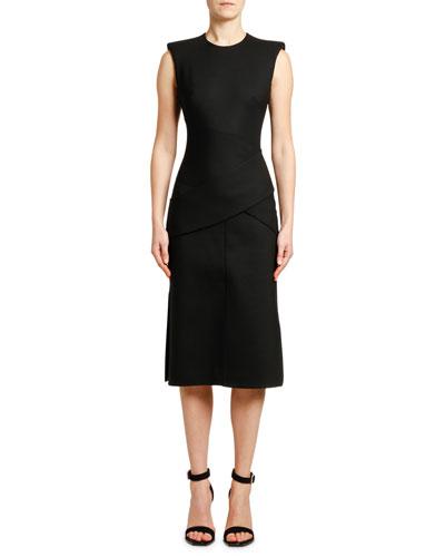 38433a3d Quick Look. Alexander McQueen · Sleeveless Slash-Cut Detail Dress
