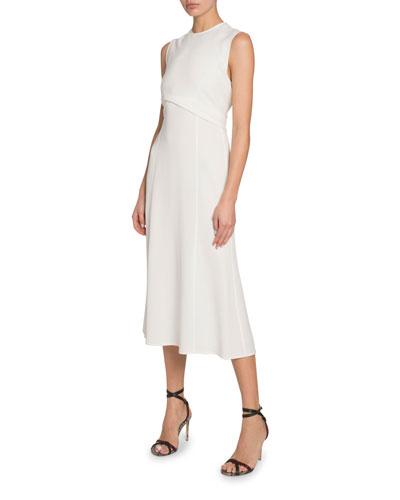 Triple Georgette Sleeveless Dress