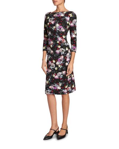 Reese 1/2-Sleeve Dress
