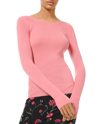 Cashmere Scoop-Neck Sweater