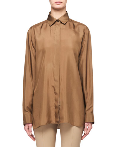 Big Sisea Silk Shirt