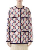 Gucci GG-Jacquard Tweed Jacket and Matching Items &