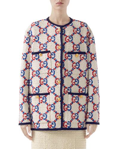 GG-Jacquard Tweed Jacket