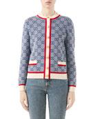 Gucci GG Wool-Knit Cardigan and Matching Items &