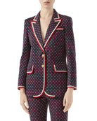 Gucci Geometric GG Jacquard Jacket and Matching Items