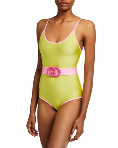 70e6d28e4ee Nylon Spandex Swimsuit | Neiman Marcus