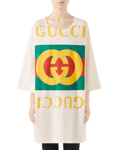 Oversize GG Logo T-Shirt