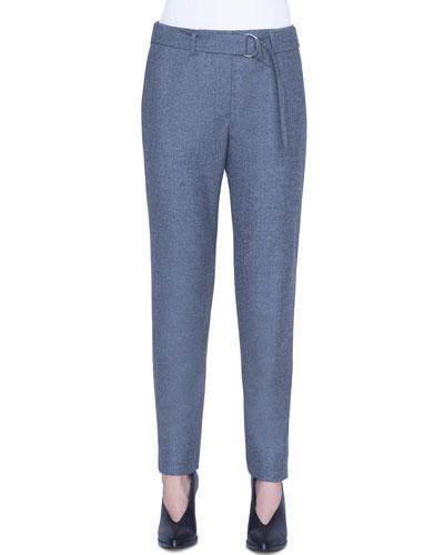 Fallon Wool Belted Chino Pants