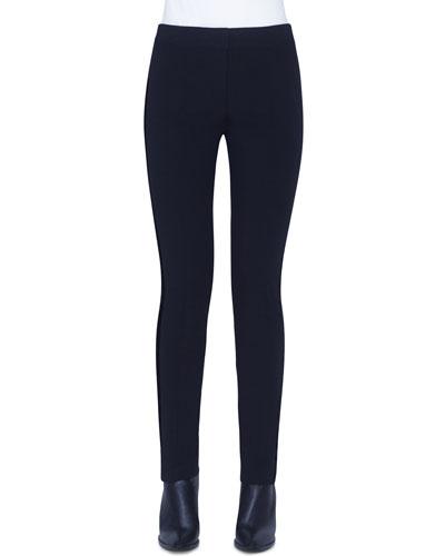Mara Jersey Pants, Black