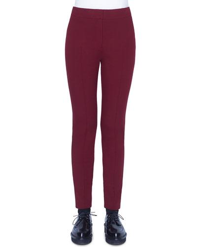 Mara Jersey Pants, Ruby