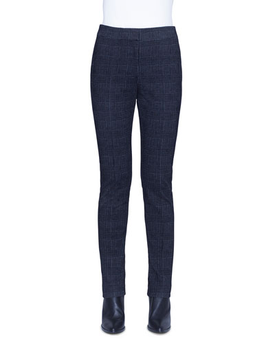 Mara Glen Check Velvet Pants