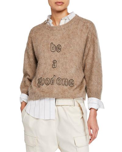 Be a Good One Monili Beaded Sweater