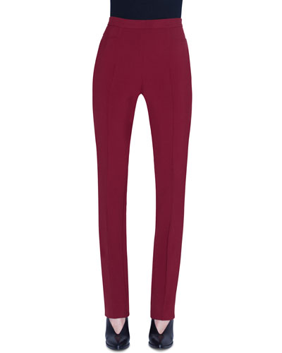 Francoise Pebble Crepe Pants