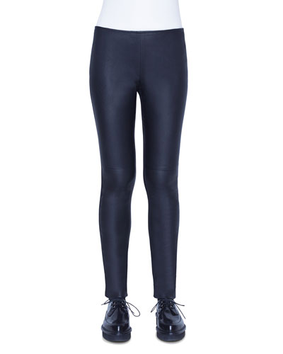 b7256094e1bd Quick Look. Akris punto · Fancy Napa Leather Pants. Available in Black