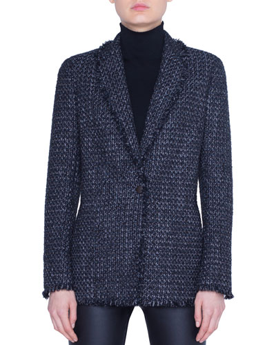 Tweed Blazer Jacket