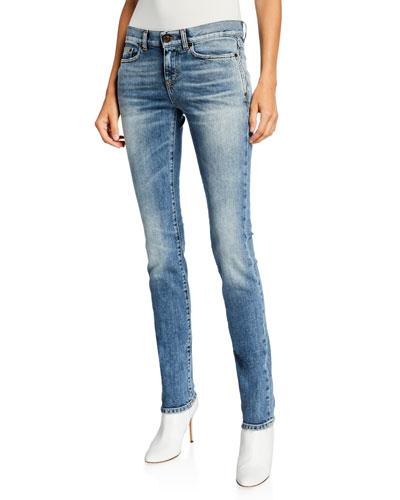 bf8e0549b1 Low Rise Skinny Pants | Neiman Marcus