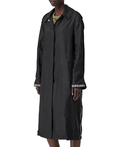 d53bdfb1e Snap Front Nylon Coat | Neiman Marcus
