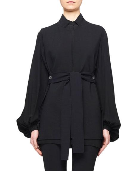 THE ROW Frieden Splitable Stretch Wool Vest