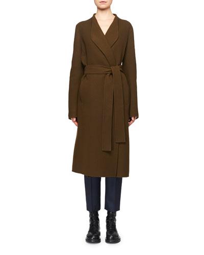 Terin Foamy Wool-Cashmere Coat