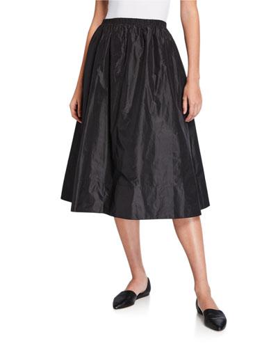 Tilia Silk Taffeta Skirt