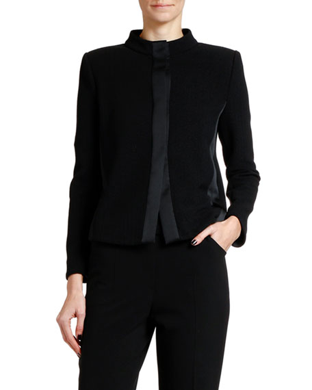Giorgio Armani Jacquard Jersey Jacket