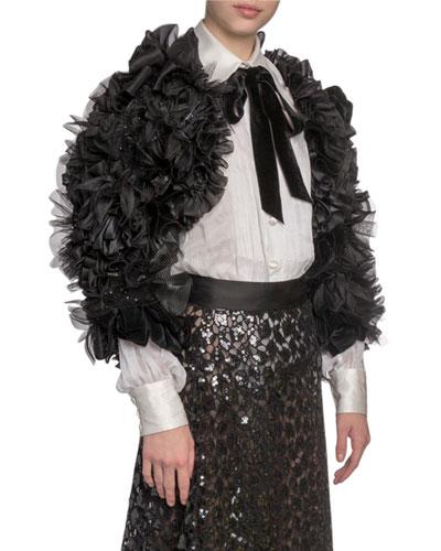 edd506831c Quick Look. Marc Jacobs · Feather Embellished Bolero Jacket