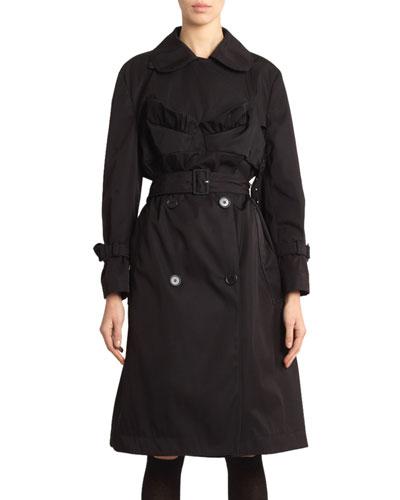 Bustier Trench Coat