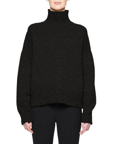 Pheliana Cashmere-Wool Turtleneck Sweater