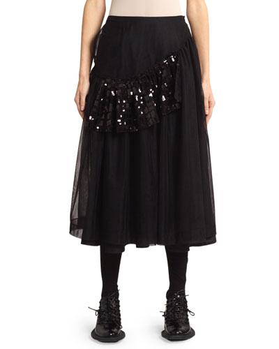 Patchwork Frame Skirt