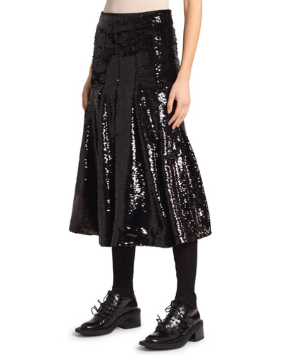 3d873770db Quick Look. Simone Rocha · Sequined Pleated Skirt. Available in Black