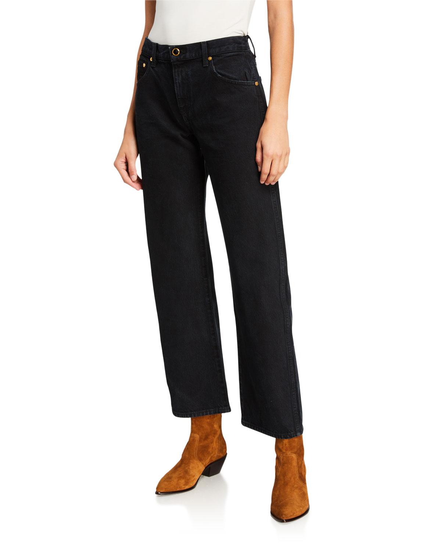 Khaite Jeans KERRIE STRAIGHT-LEG JEANS