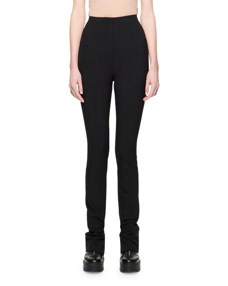 THE ROW Corso Bi-Stretch Wool Pants