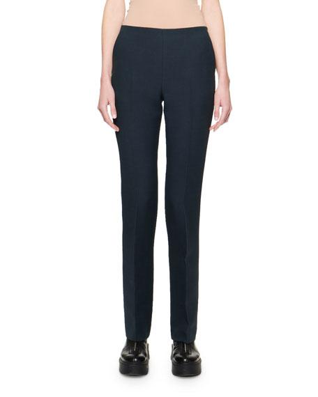 THE ROW Ladan Wool Silk Pants