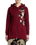 Antonio Marras Floral Applique Sweatshirt