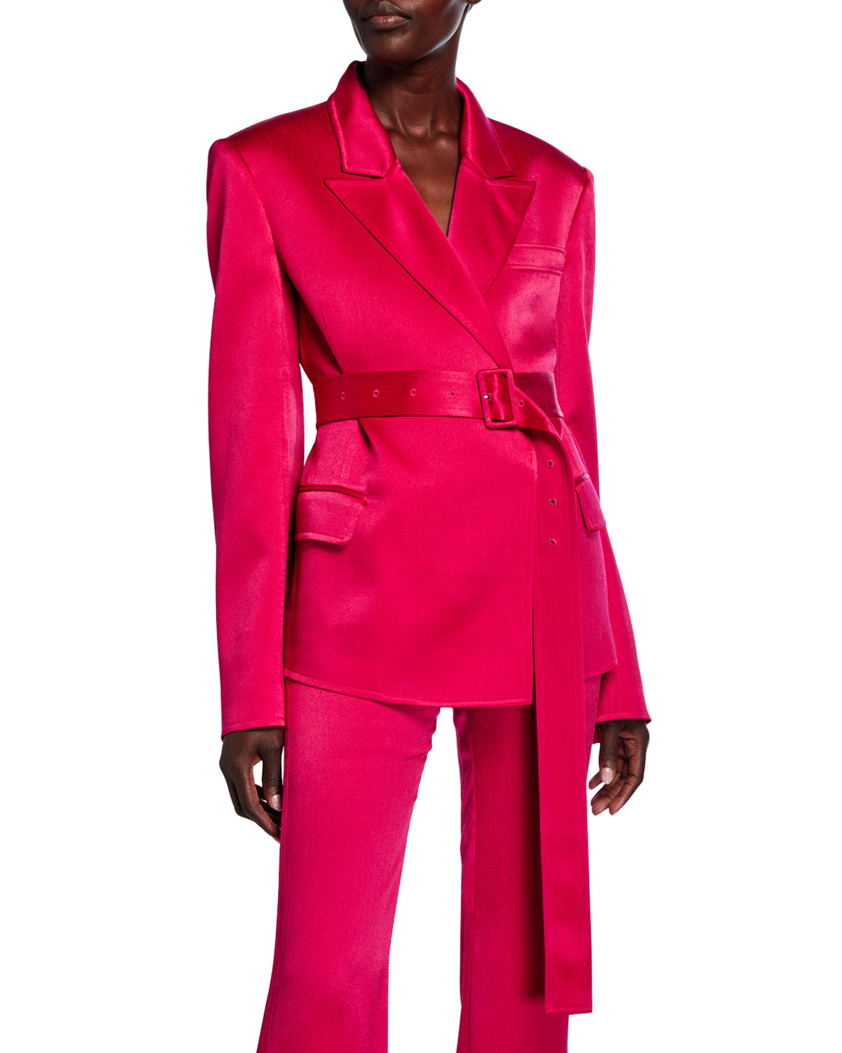 Adeam BELTED TAILORED JACKET
