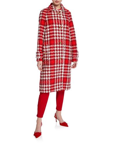 Myrna Jumbo Houndstooth Coat