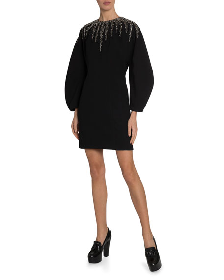 Givenchy Embroidered Crystal Dress