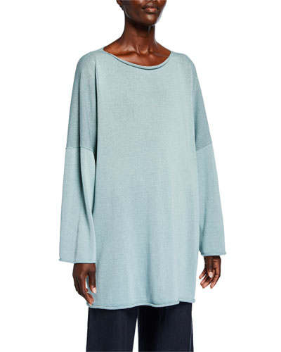 Square Mercerized Cotton Top