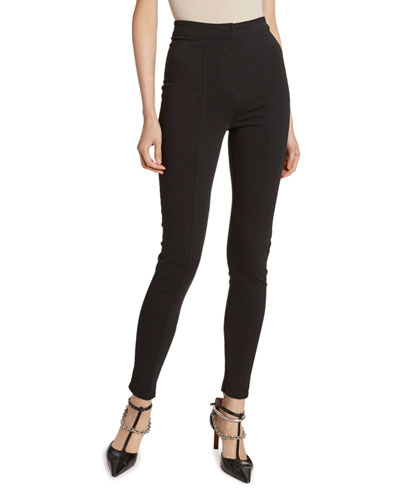 High-Rise Skinny Leg Pants
