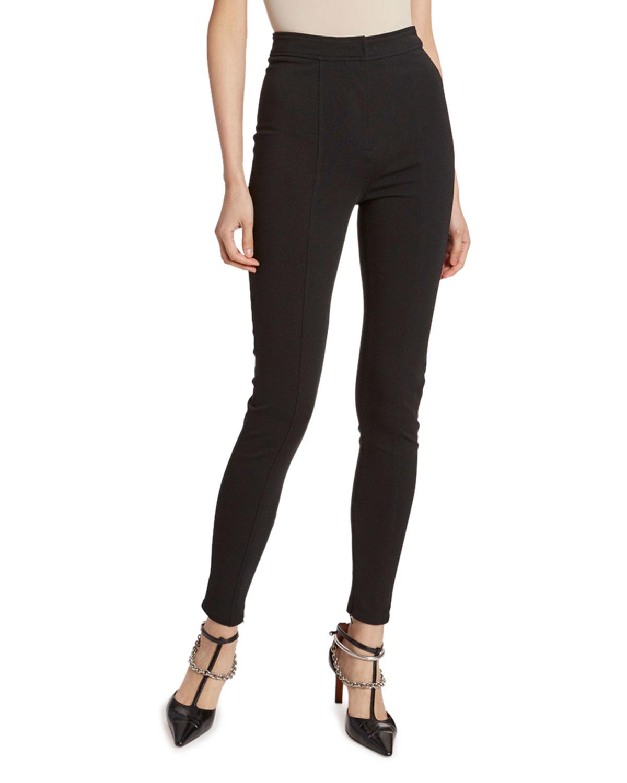 High-Rise Skinny Leg Pants