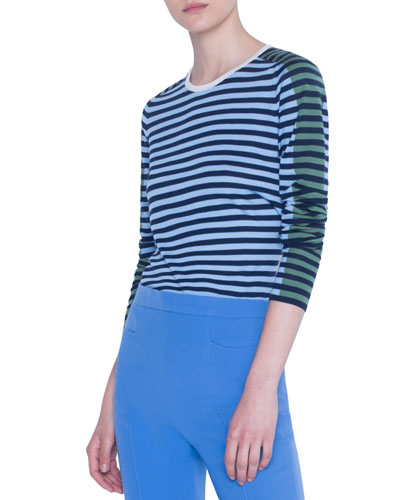 Merino Striped Sweater
