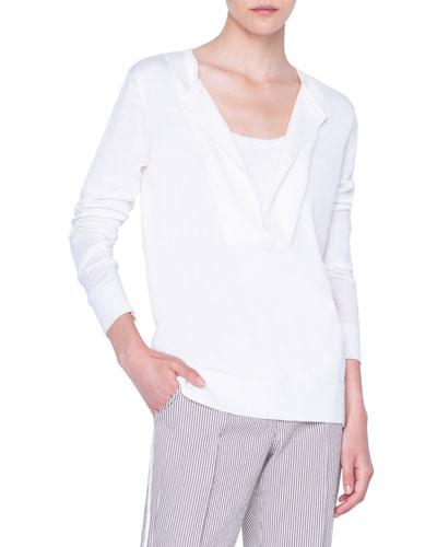 Merino Trompe l'Oeil Sweater