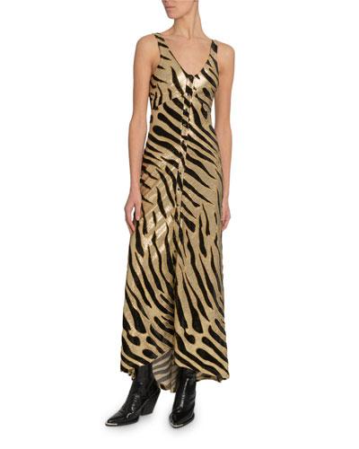 Tiger Shimmer Cami Dress