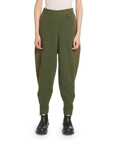 Cotton-Wool Harem Pants