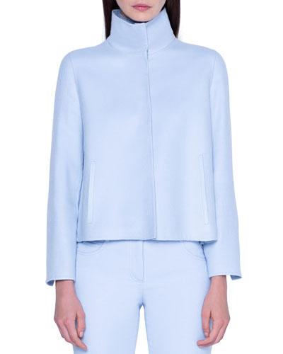 Cashmere Short Jacket