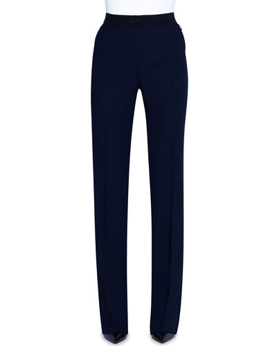 """Light Blue Elastic PU Leather Pants For 11.5/"""" Doll Clothes 1//6 Bottoms Trousers"""