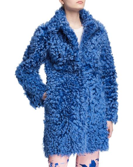 Sies Marjan Chubby Lamb Shearling Coat